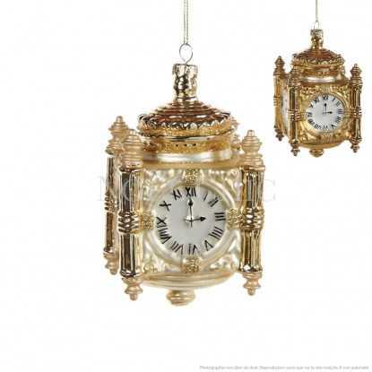 Horloge londonienne en verre soufflé