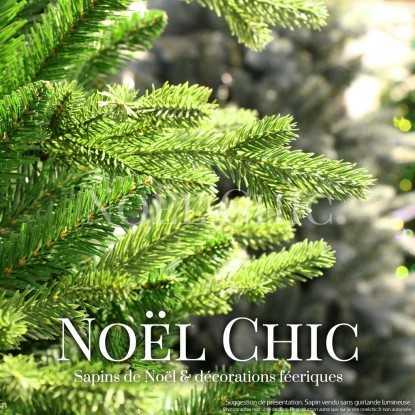 Sapin de Noël VICTOR : détail des branches & aiguilles
