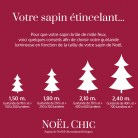 Sapin de Noël artificiel : modèle HIPPOLYTE