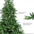Sapin de Noël artificiel : modèle VALENTIN