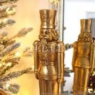 Casse-Noisette luxueux doré