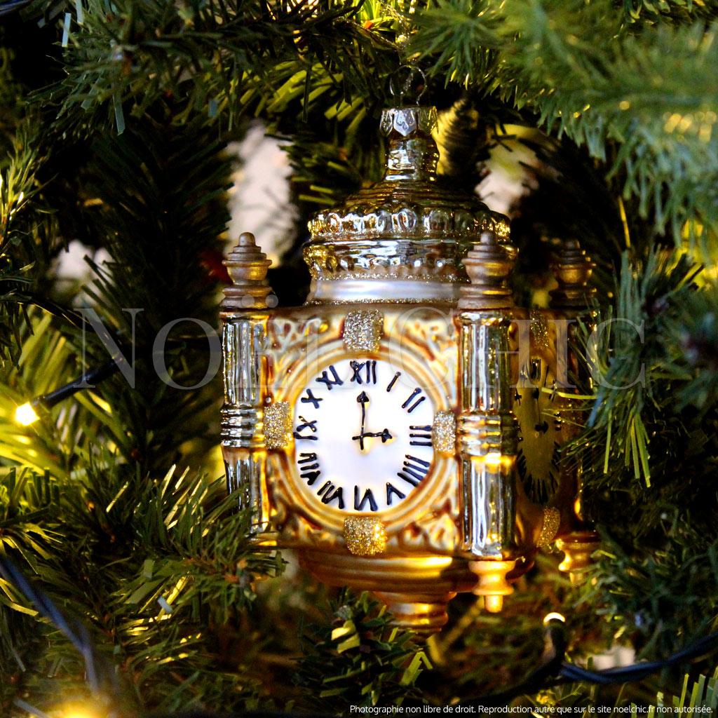 Horloge londonienne verre