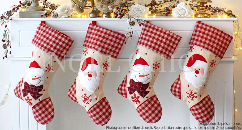 Chaussettes de Noël suspendues